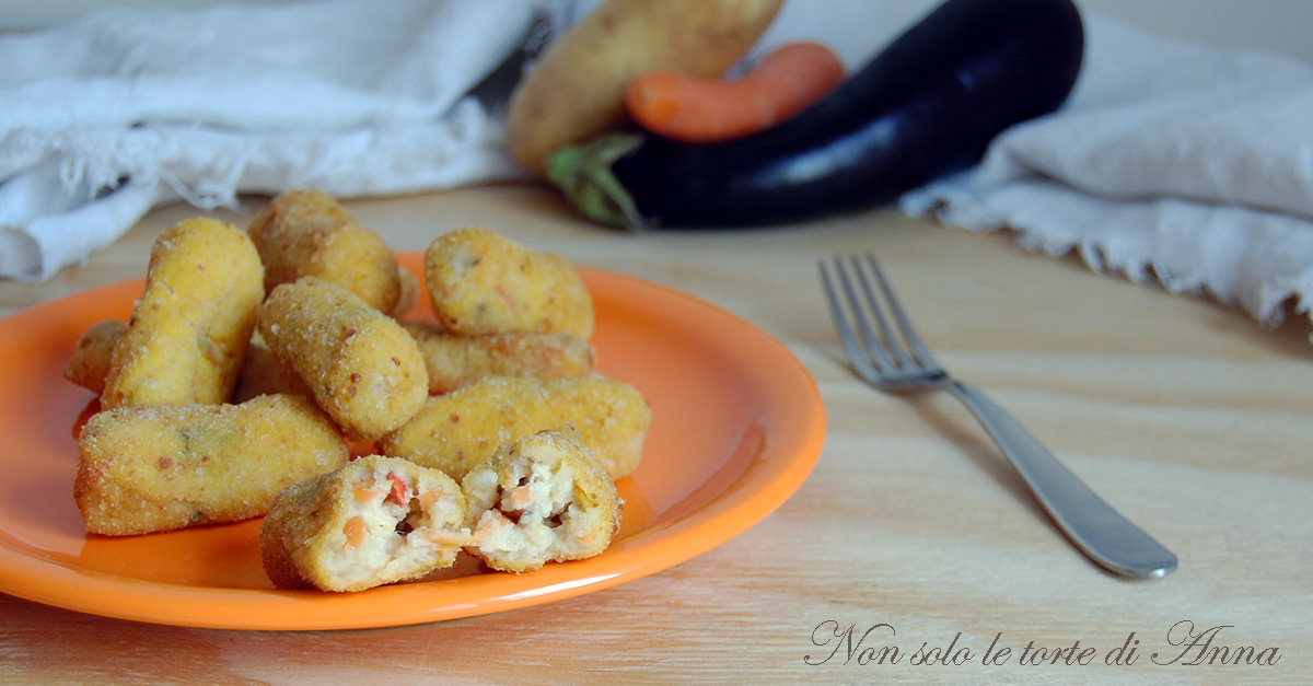 Crocchette di verdure ricetta facile