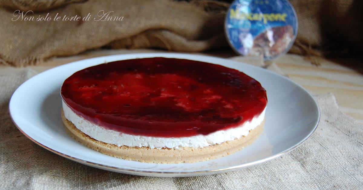 cheesecake mascarpone e ricotta | Non solo le torte di Anna