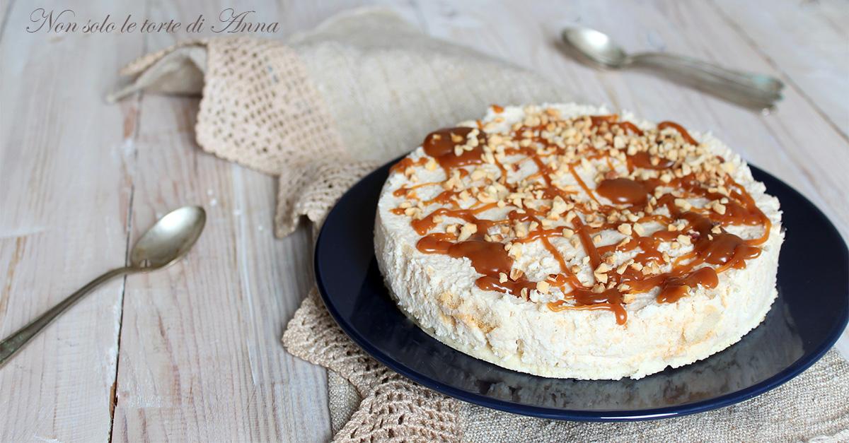 Cheesecake al caramello