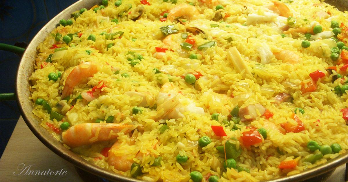 Paella ricetta spagnola