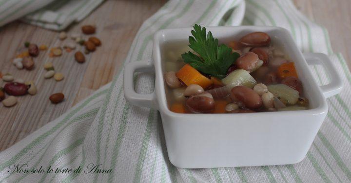 zuppa cereali, legumi