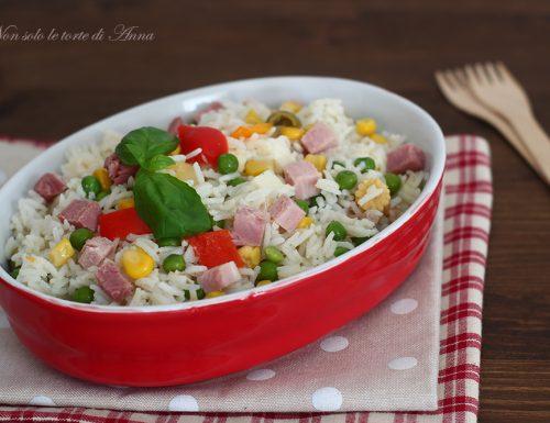 Insalata di riso ricetta facile