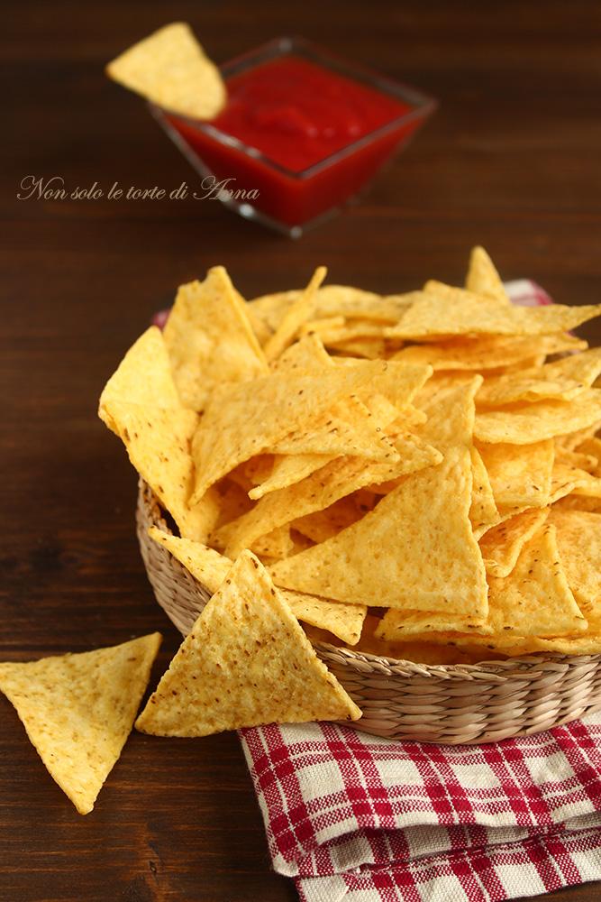 Ricetta Tortilla Chips Bimby.Tortilla Chips Home Made Chips Di Tortillas Non Solo Le Torte Di Anna