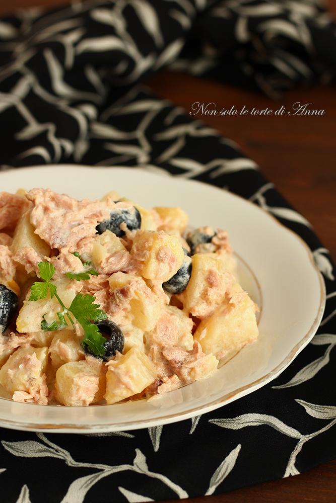patate alla panna tonno e olive