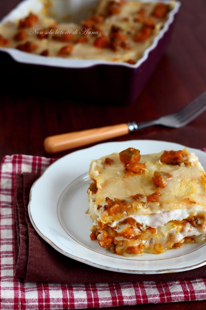 lasagne zucca e salsicce