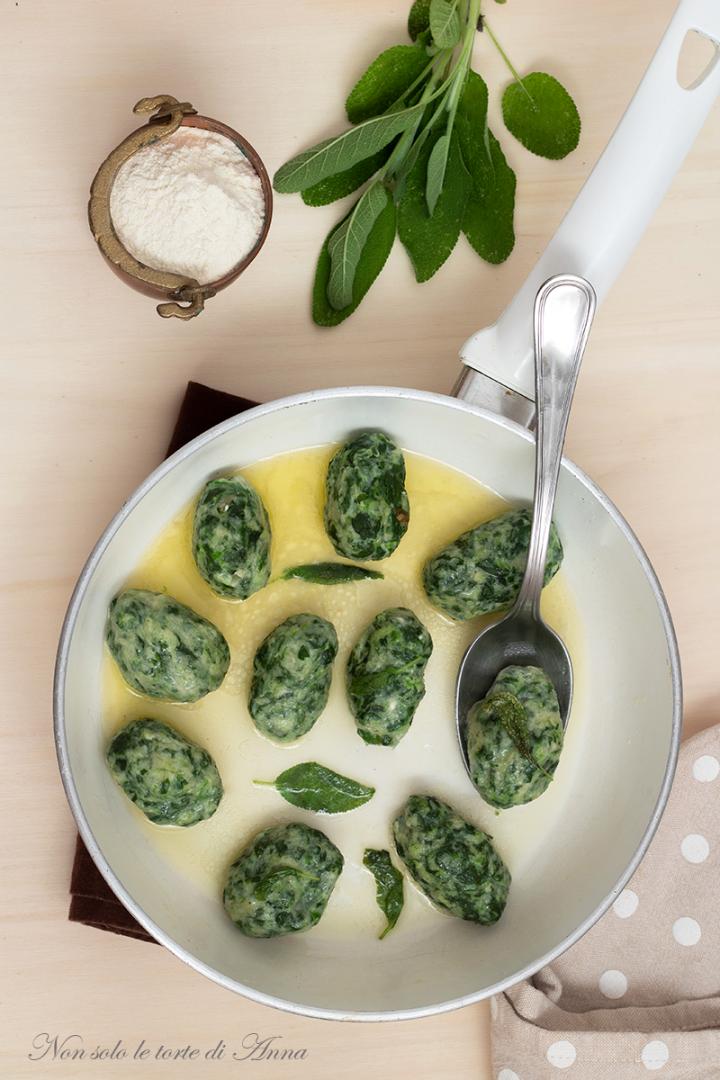 malfatti ricotta e spinaci