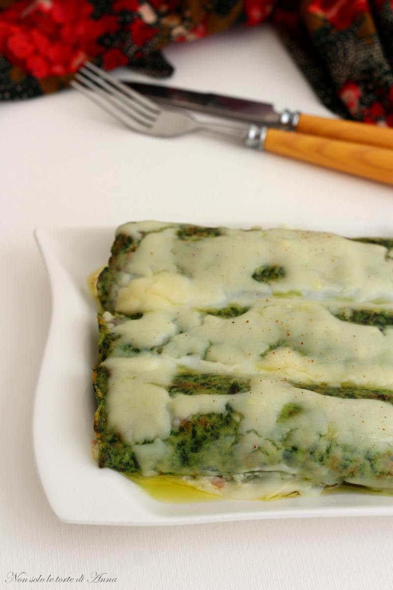 cannelloni di spinaci