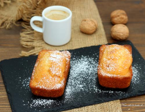 Mini plumcake zucca e noci