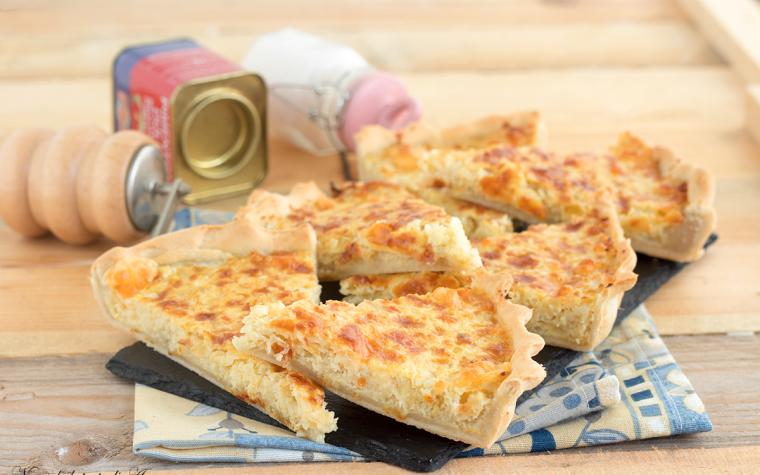 Torta salata cavolfiore e formaggio