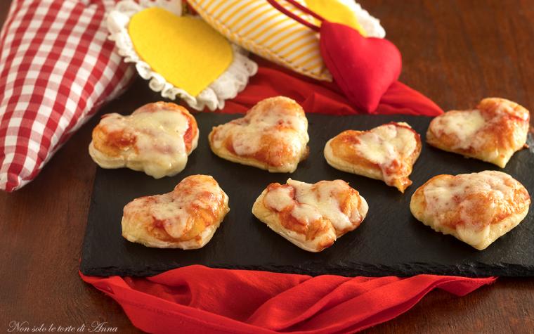 Pizzette margherita ricetta finger food