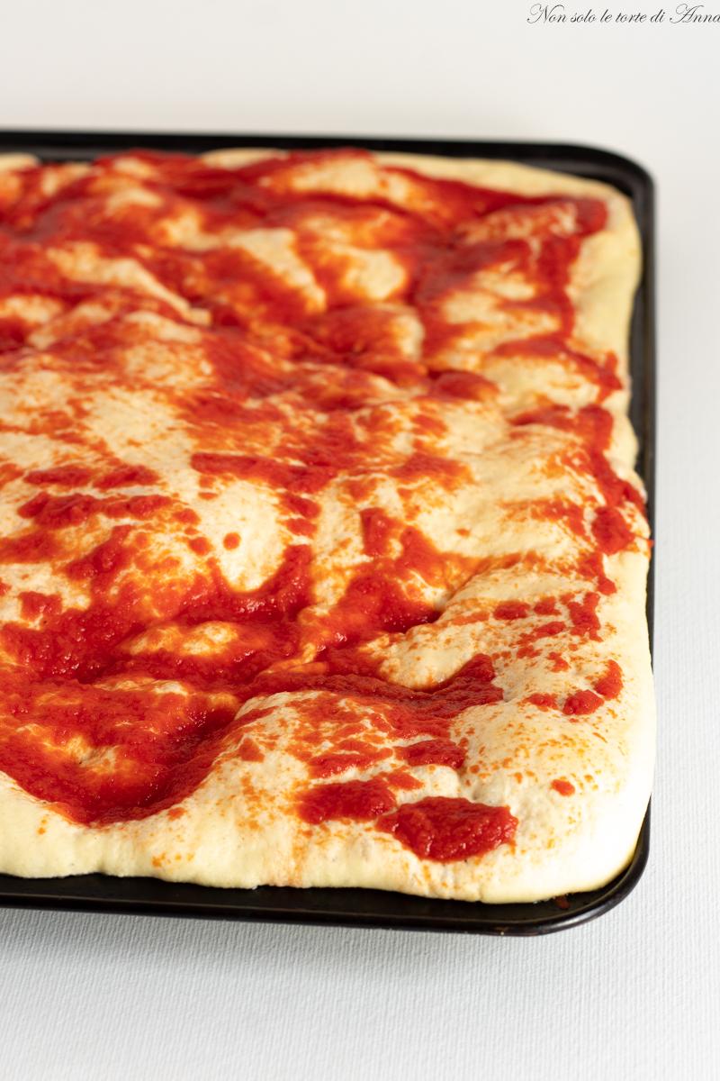 Ricette Lievito Madre Essiccato.Pizza In Teglia Con Lievito Madre Secco Pizza In Teglia