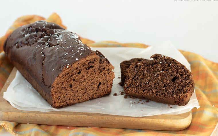 Plumcake cacao e cocco senza burro