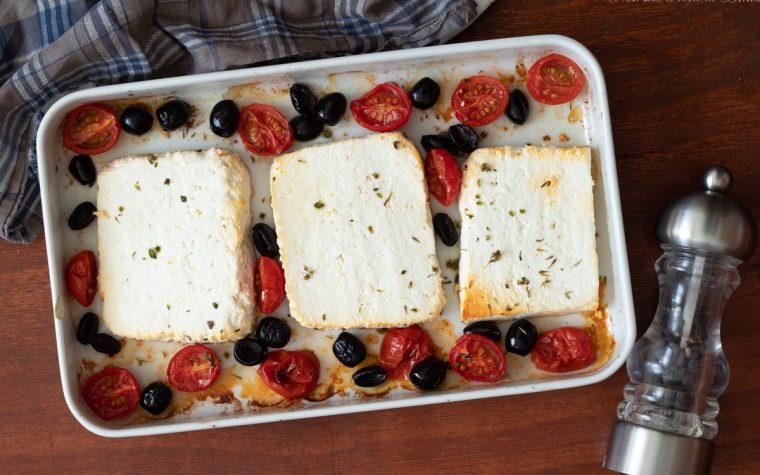Ricotta al forno con pomodorini