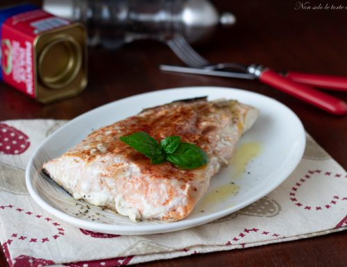 Filetto di salmone alla paprika