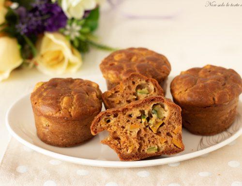 Muffin salati con le verdure