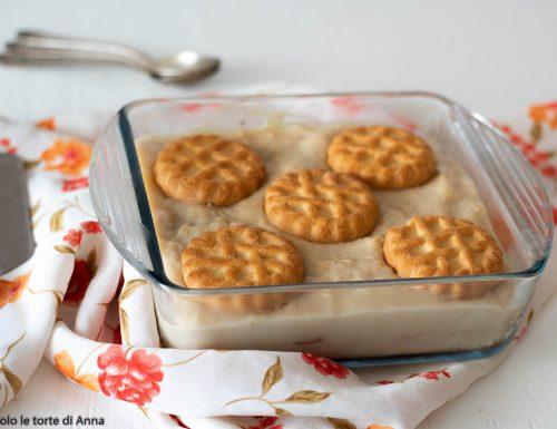Torta crema di caffè e biscotti