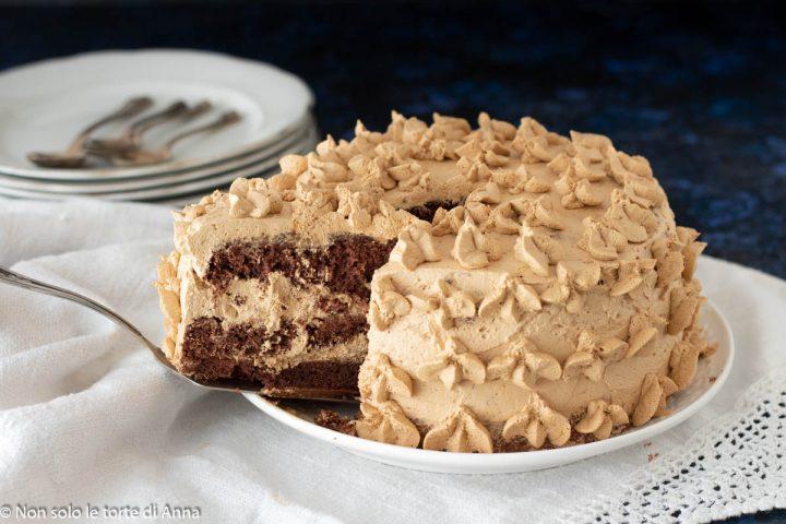 torta cioccolato e crema al caffè