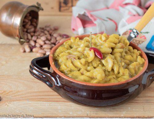 Pasta fagioli e patate ricetta cremosa