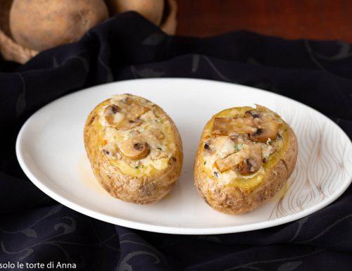 Patate farcite-ricetta microonde