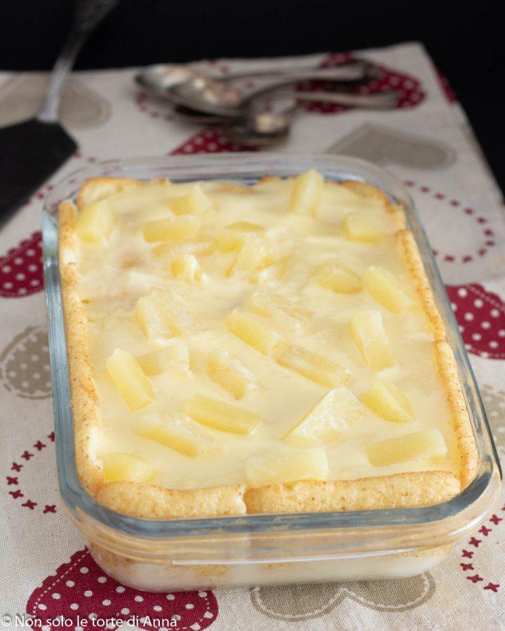 semifreddo ananas e crema pasticcera