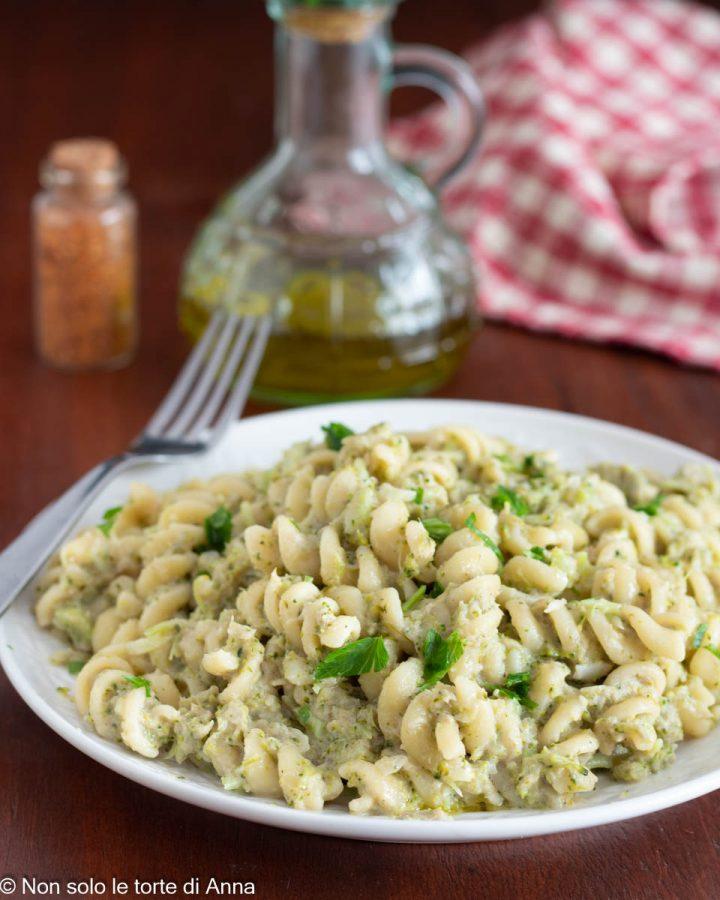 pasta broccoli e tonno ricetta cremosa