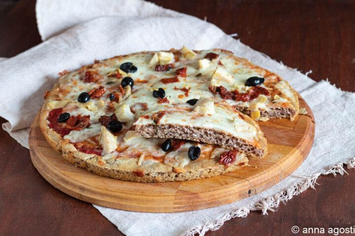 pizza con farina di grano saraceno