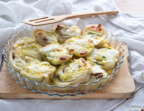 Finocchi al forno con formaggio