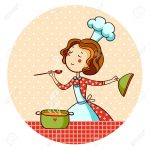 37455840-woman-cooking-soup-housewife-cooking-dinner-stock-vector-cooking-cook-cartoon