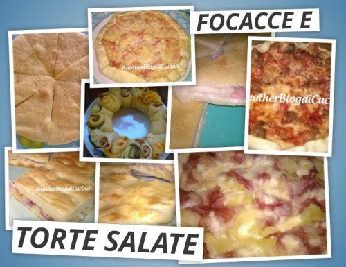 Ricette di torte salate e focacce
