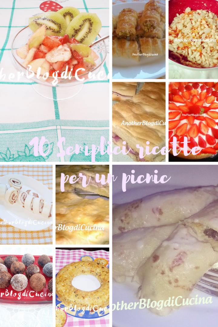 10 semplici ricette per un picnic