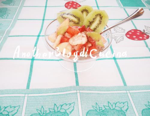 Macedonia di frutta fresca e golosa