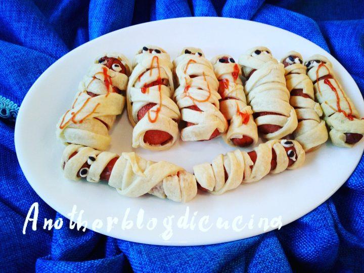 WURSTEL MUMMIA PER HALLOWEEN - Another Blog di Cucina