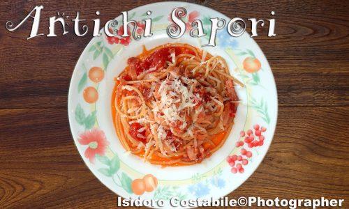 Spaghetti all'Amatriciana o Matriciana?