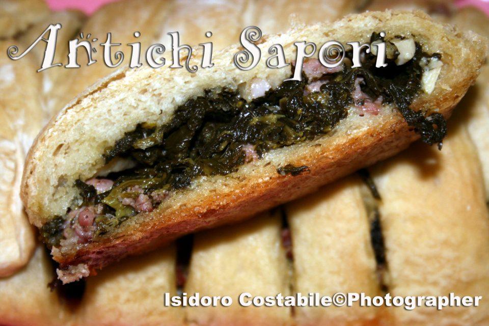 Friarielli: Strudel di Friarielli e salsiccia