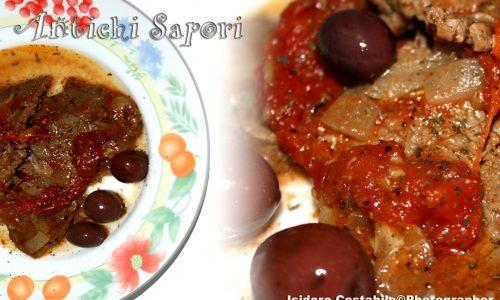 Carne alla pizzaiola ru' Turrese.