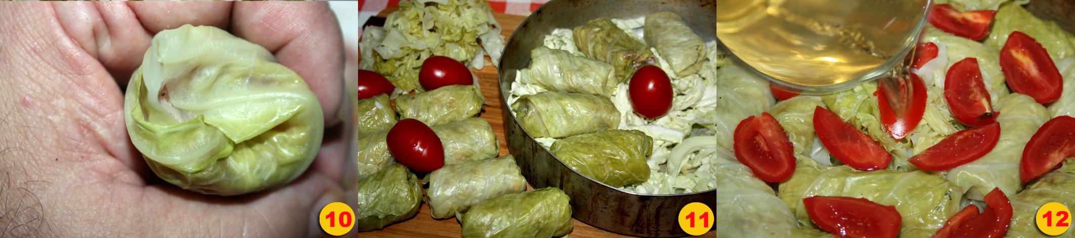 Sarmale piatto tradizionale Rumeno.