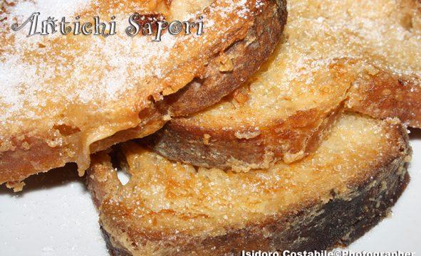 Fette di pane aromatizzate.