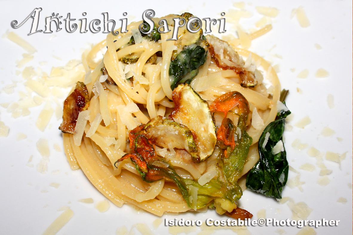 Spaghetti alla Nerano. L'originale.