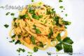 Vermicelli aglio olio e peperoncino alla Borbonica.