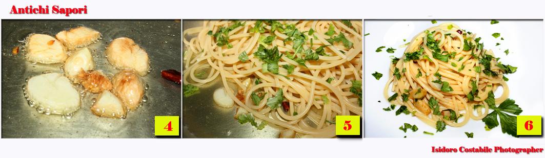 Vermicelli aglio, olio e peperoncino alla Borbonica