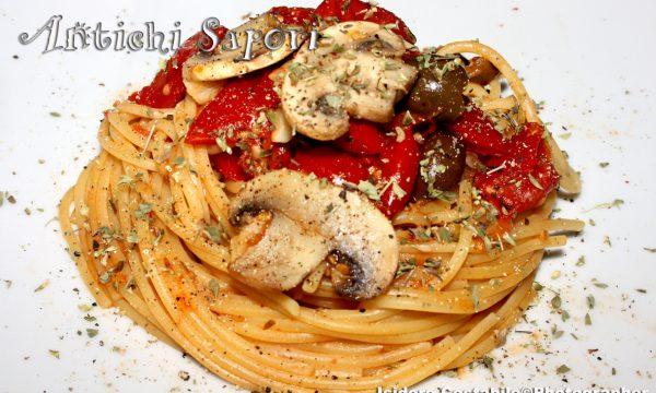 Napoli nel piatto. Spaghetti alla disperata.