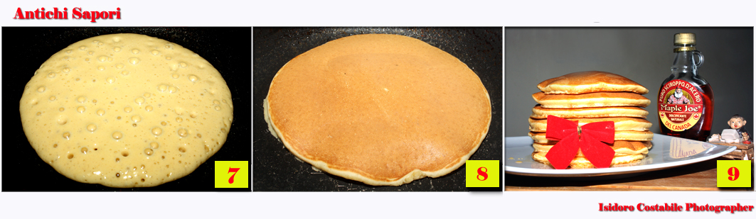 Pancake. Quella originale americana.