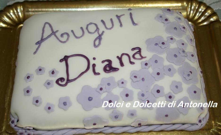 torta fiori dolci e dolcetti di antonella