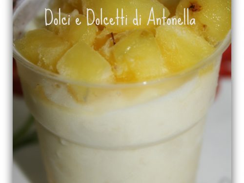 Semifreddo all'ananas, ricetta estiva