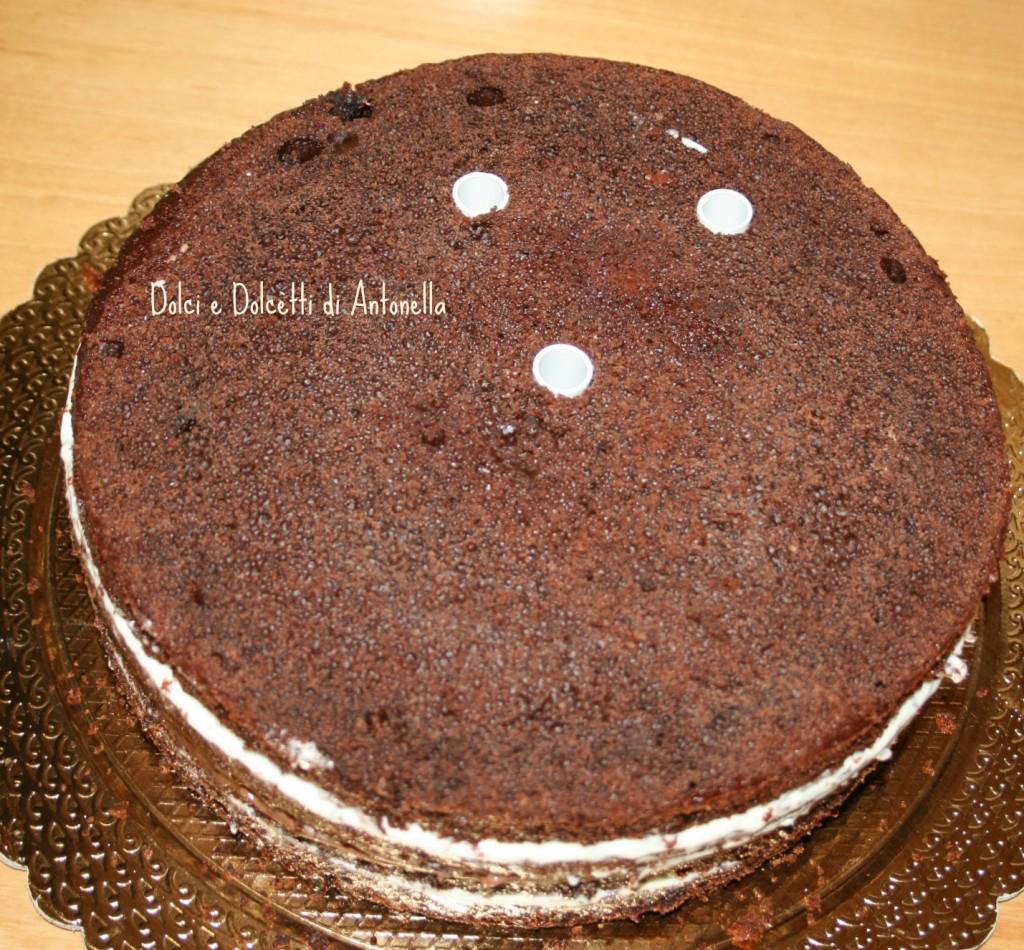 tutorial torta 2 piani dolci e dolcetti di antonella