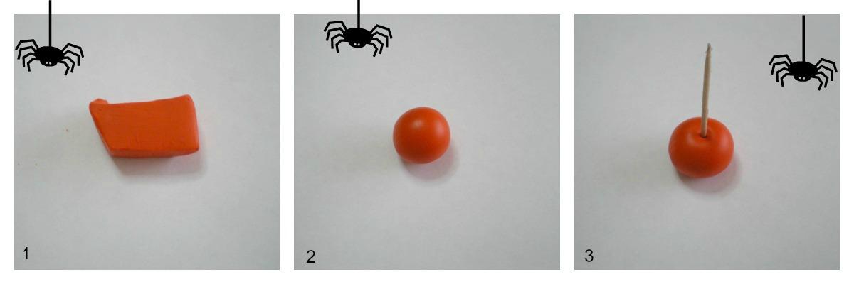 Zucca halloween segnaposto fai da te antonella dolci for Attivatore fosse biologiche fai da te