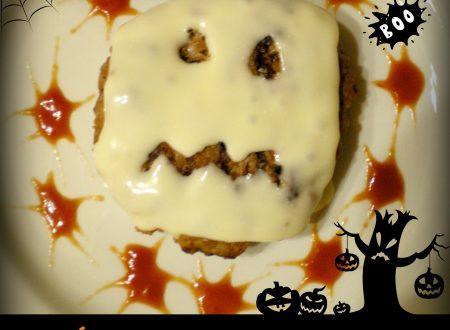 Hamburger e formaggio, Ricetta Halloween