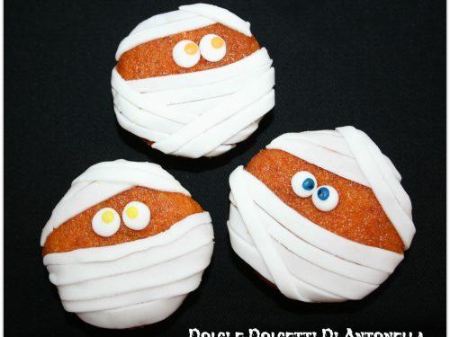 Cupcakes mummie, Idea Halloween