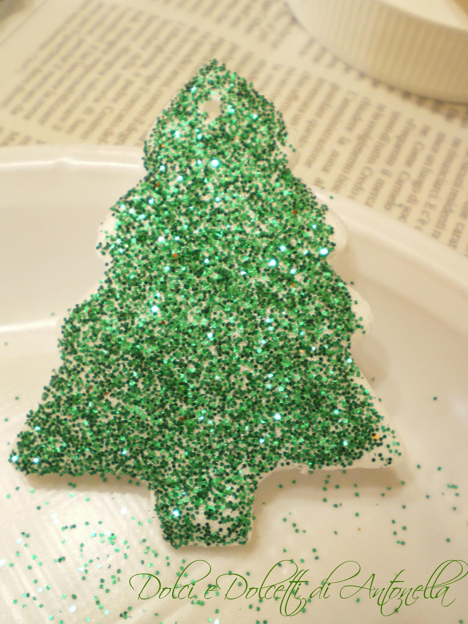 Decorazioni per albero di natale fai da te dolci e for Decorazioni fai da te per cucina