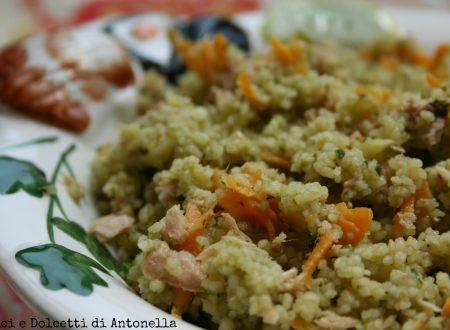 Insalata di cous cous, ricetta facile e veloce